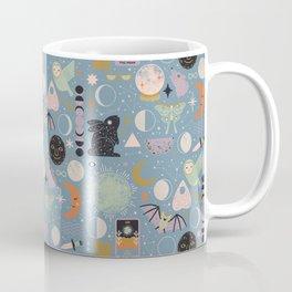 Lunar Pattern: Blue Moon Coffee Mug