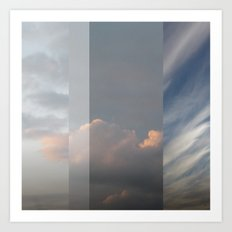 Northern Sky Fragments 2 Art Print