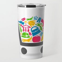 Clothes a cart Travel Mug
