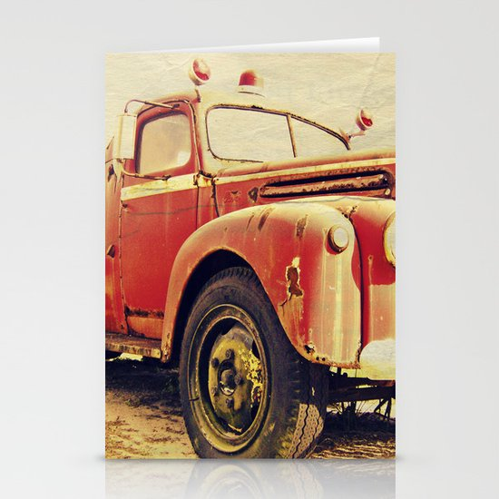 Full Truck Heroes Never Die.  Stationery Cards