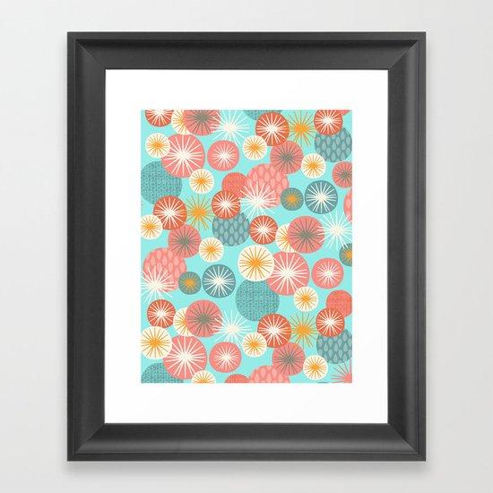 Fun Burst Framed Art Print