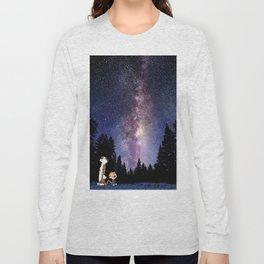 calvin and hobbes dreams Long Sleeve T-shirt