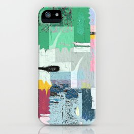 Helios and the Street . Contemporary Urban Abstract iPhone Case