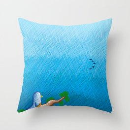 Farewell Throw Pillow