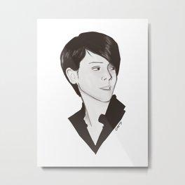 Sara Quin Metal Print