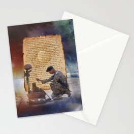 The Marine's Prayer Stationery Cards