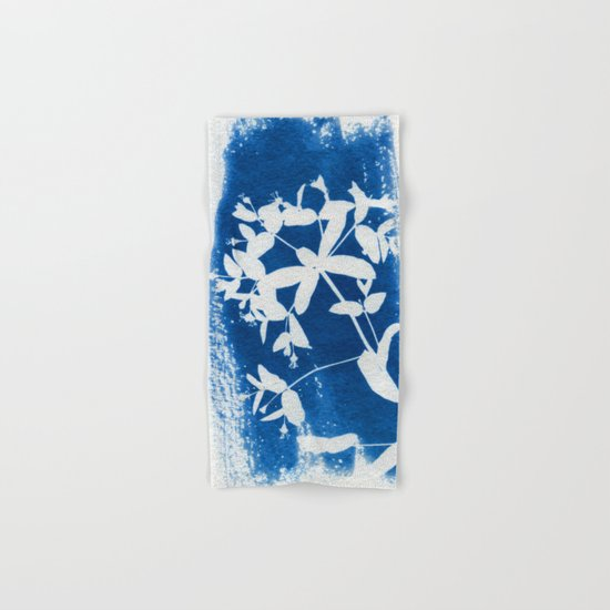Herbal Sunprint #5 Hand & Bath Towel