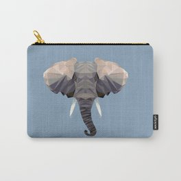 E is for Elephant Carry-All Pouch