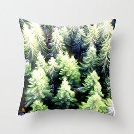 Tree Art Two Throw Pillow