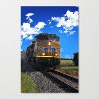 train Canvas Prints featuring Train by Phil Flaig