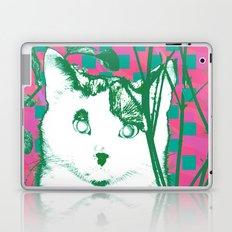 flower and cat Laptop & iPad Skin