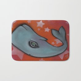 Waylon the Whale Bath Mat