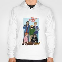 breakfast club Hoodies featuring The Breakfast Club by Dasha Borisenko