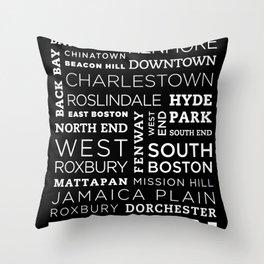 City of Neighborhoods - I Throw Pillow