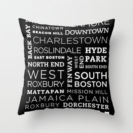 City of Neighborhoods - I Throw Pillow