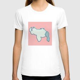 Mapa de Venezuela T-shirt