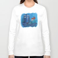 hallion Long Sleeve T-shirts featuring Part of Every World by Karen Hallion Illustrations