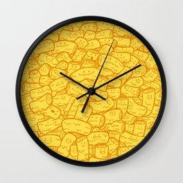 Mac and Cheese Wall Clock