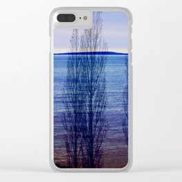 SeaForest Clear iPhone Case