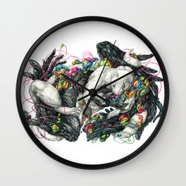 Northern Lovers Wall Clock