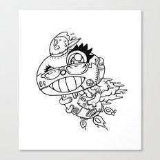 shiitake mushroom Canvas Print