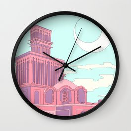 Windcatcher Wall Clock