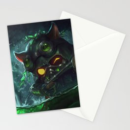 Omega Squad Teemo League Of Legends Stationery Cards