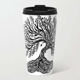 Roots and Leaves Travel Mug