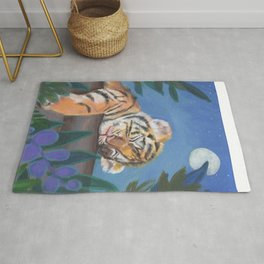 What Does the Tiger Dream? Rug