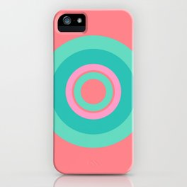 Circle love iPhone Case