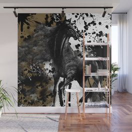 HORSE AND THUNDER Wall Mural