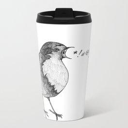 robin takes offense Metal Travel Mug
