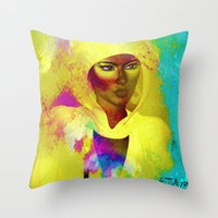 philosophy Throw Pillows featuring Colors Of Philosophy by TK0920
