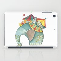 dumbo iPad Cases featuring Dumbo  by One Golden Sun