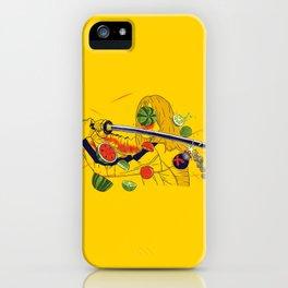 Kill Fruit iPhone Case