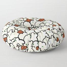 Hurricane Popcorn  Floor Pillow