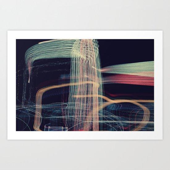 fireworks, pt. II Art Print