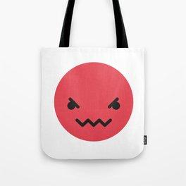 Emojis: Angry Tote Bag