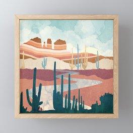 Desert Vista Framed Mini Art Print