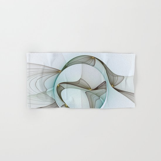 Abstract Elegance Hand & Bath Towel
