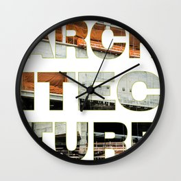 Architecture_Achitec-true Wall Clock
