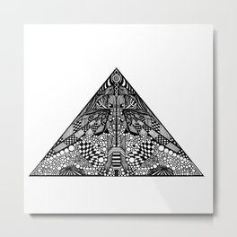 [pyramid 22] Metal Print