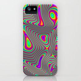 Lysergic Nebula iPhone Case
