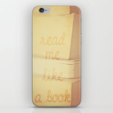 Read Me iPhone & iPod Skin