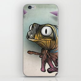 Sex frogs and rock'n'roll iPhone Skin