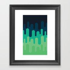 ⋃G⋃R⋃N⋃ Framed Art Print