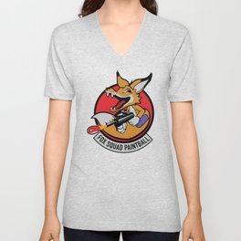 Fox Squad Unisex V-Neck