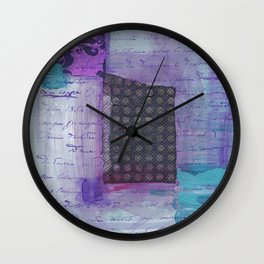Live Each Day Wall Clock