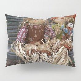 Scarecrow Family Pillow Sham