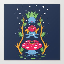Kanto Forest Canvas Print